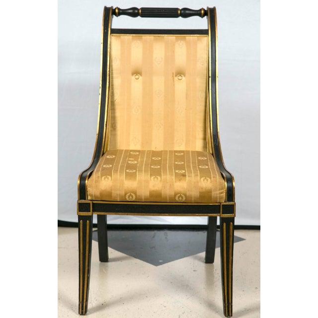 John Stuart Saber Leg Dining Chairs - Set of 6 - Image 9 of 9
