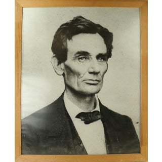 Frame Young Lincoln Photograph