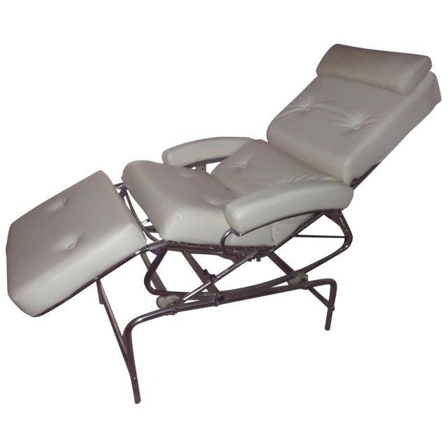 Vintage 1960s Lama Chrome Lounge Massage Chair - Image 1 of 7