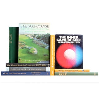 Vintage Golfers Library - Set of 9