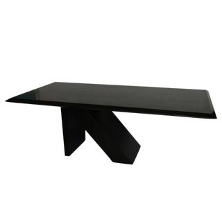 Wood & Steel Dining Table