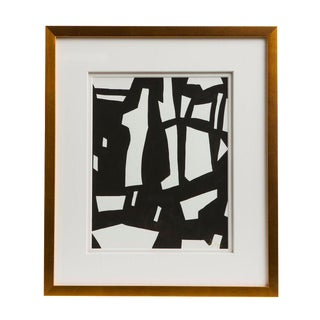 Emporium Home Abstract Black & White Watercolor
