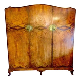 Antique Burr Walnut Wardrobe