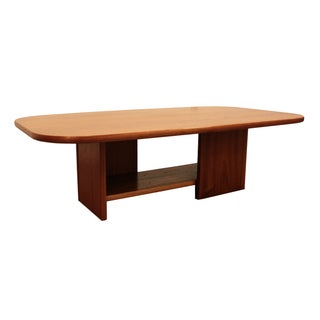 Mid-Century Danish Modern Mobler Teak Coffee Table