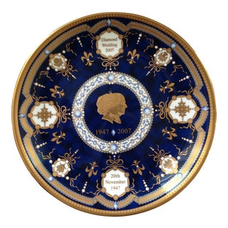Royal Worcester Commemoration Plate