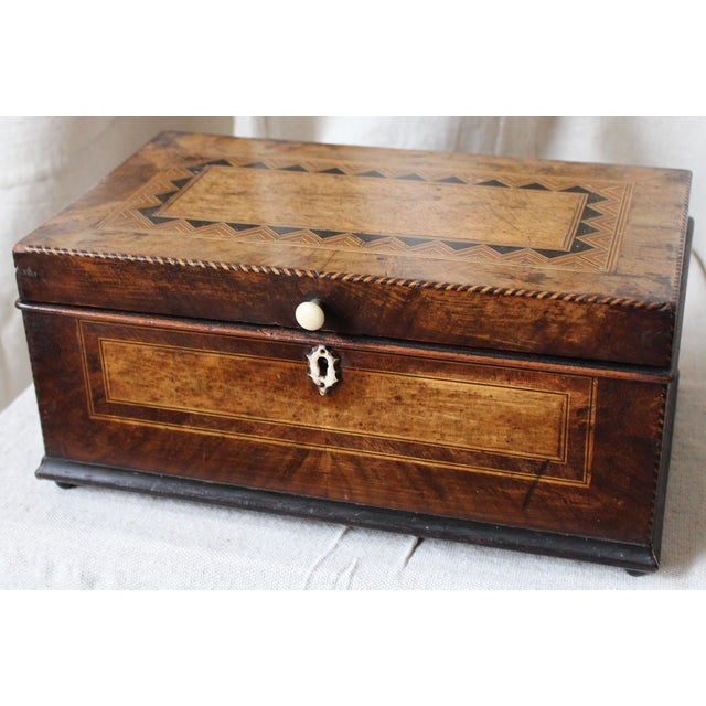 Tunbridge Ware Sewing Box - Image 3 of 9