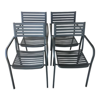 Emu Segno Stackable Outdoor Dining Chairs - Set of 4