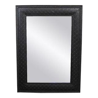 Metal Work Black Lace Mirror Frame