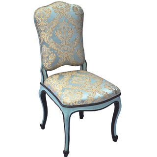 Hand-Painted Venetian Style Side Chair