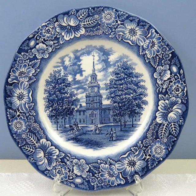 Vintage Mismatched Ironstone Dinner Plates - Set of 4 - Image 3 of 11