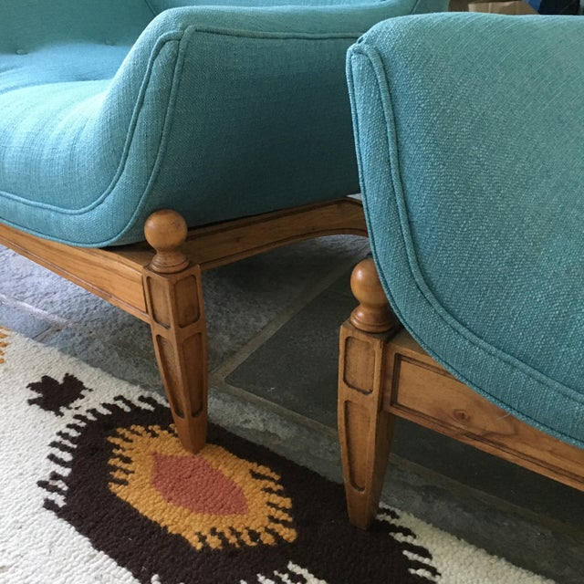 Mid-Century Gondola Chairs - A Pair - Image 6 of 6