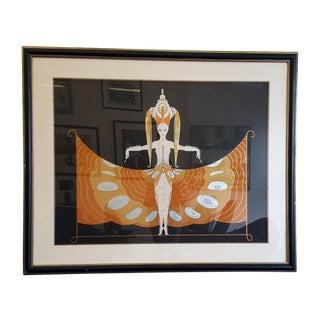 "Erte Large Limited Edition ""Hindu Princess"" Print"
