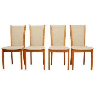 Skovby Danish Modern Teak Dining Chairs - Set of 4