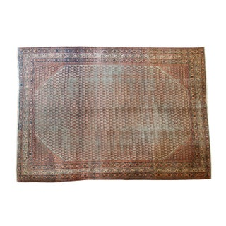 "Distressed Mir Serbend Carpet - 8'1"" X 11'5"""