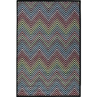 Flawless Multi Color Chevron Rug -- 8'x 11'