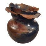 Image of Petal Top Pottery Vase