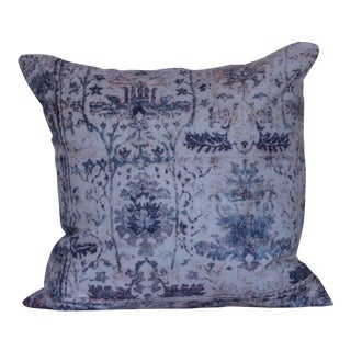 Vintage Turkish Blue Pillow Cover