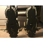 Image of Vintage Venetian Mirrored Wall Sconces - A Pair