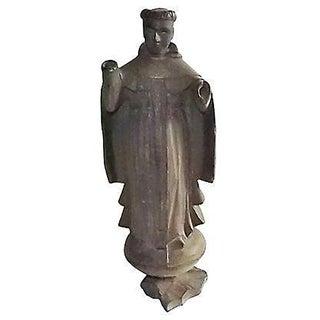 18th Century Antique European Santo Figure
