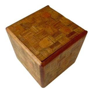 1930s Vintage Japanese Puzzle Box