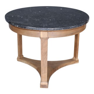 19th Century Directoire Walnut Center Table