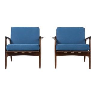 Ib Kofod-Larsen Lounge Chairs - A Pair