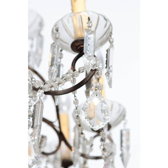 19th Century Italian 18-Light Crystal Chandelier - Image 9 of 10