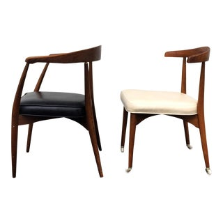 Lawrence Peabody for Richardson Nemschoff Chairs - A Pair