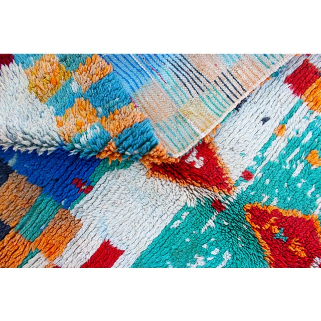 Image of Vintage Azilal Moroccan Berber Rug - 3′2″ × 4′8″