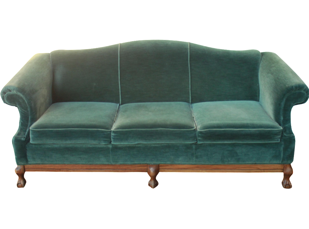 Vintage Emerald Green Velvet Sofa with Claw Feet Chairish : bd361a11 615a 47ea beb2 ab3360af3439aspectfitampwidth640ampheight640 from www.chairish.com size 640 x 640 jpeg 25kB