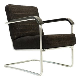 Werner Max Moser Tubular Steel Armchair for Embru Werke