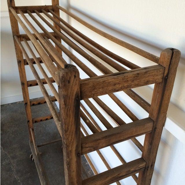 Antique Wooden Rack - Image 4 of 6