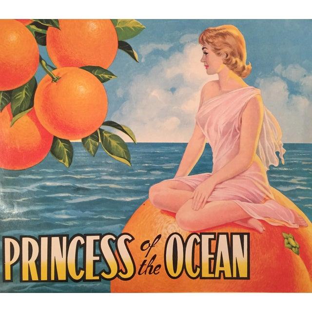 1930s Vintage Spanish Label, Princess - Image 1 of 2