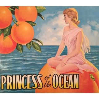1930s Vintage Spanish Label, Princess