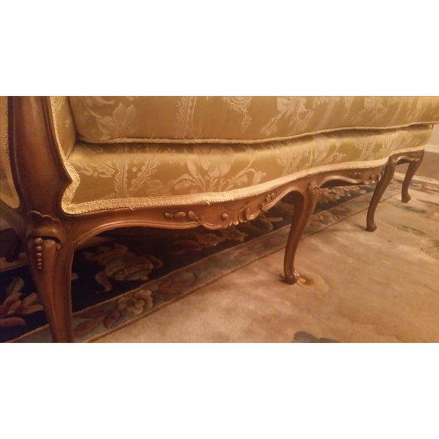 Image of 1940s Hollywood Regency Couch