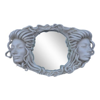 Figural Mirror of Women Vintage