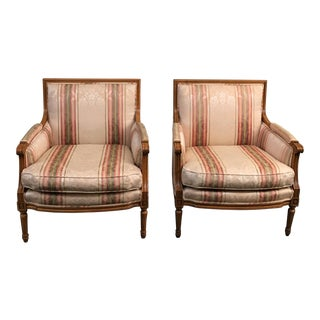Baker Furniture Marquis Armchairs - A Pair