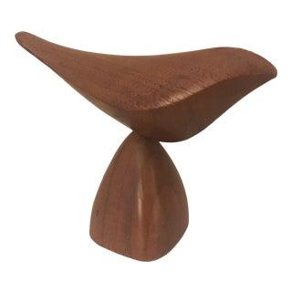 Mid-Century Modern Hand Carved Emil Milan Bird