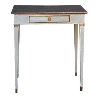 Side Table with Porphyry Painted Top (#32-43)