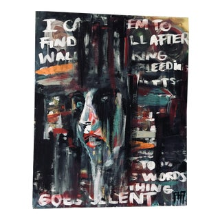 Urban Abstract Acrylic on Canvas Painting