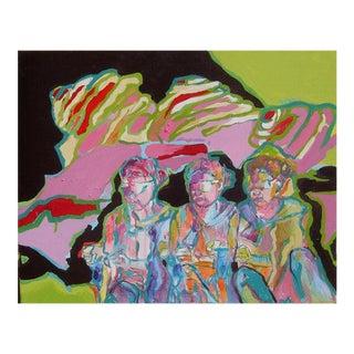 """""""Navajo"""" Painting by Danuta Krol"""