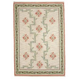 Swedish Rollakan Handwoven Carpet