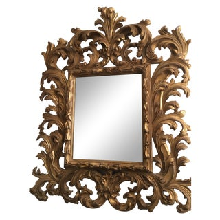 New Friedman Brothers Rococo Mirror Showroom Sample