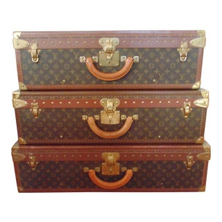 Louis Vuitton Alzer Stacking Hard Cases - Set of 3