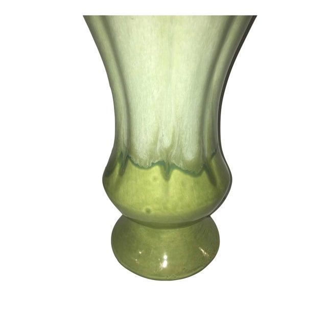 Green Glazed Vase - Image 3 of 3