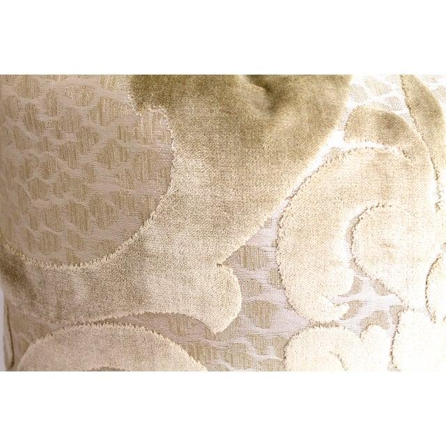 Cut Velvet Damask Pillow - Image 3 of 4