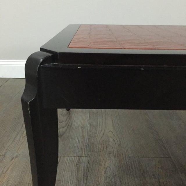Interior Crafts Faux Crocodile Coffee Table - Image 4 of 10