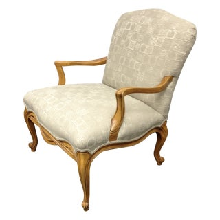 Drexel Heritage Gray Bergère  Chair