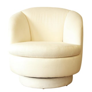 Milo Baughman for Thayer Coggin Swivel Club Chair