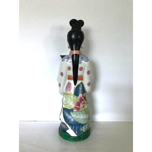 Gump's of San Francisco Vintage Oriental Candle Holder - Image 2 of 6